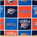 NBA Fleece Oklahoma City Thunder Block Blue