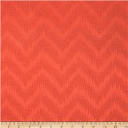 Waverly Peaks Solid Chevron Damask Autumn