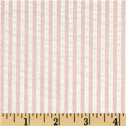 Waverly Pucker Up Seersucker Stripe Cotton Candy Fabric
