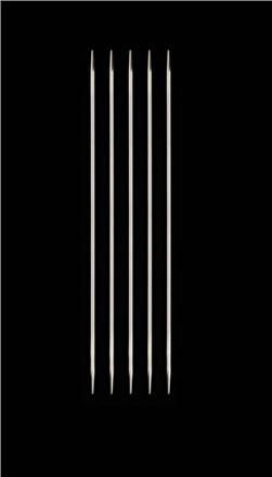 HiyaHiya Steel 6'' Double Pointed Knitting Needles US 1.5 (2.5mm)