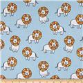 Michael Miller Baby Zoo Flannel Dandy Lions