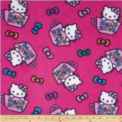 Hello Kitty Fleece Hello Kitty in the Cup