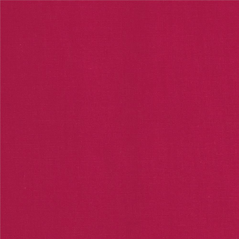 Americana Stretch Cotton Poplin Fuchsia