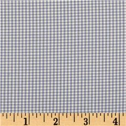 Kaufman 1/16'' Carolina Gingham Periwinkle Fabric