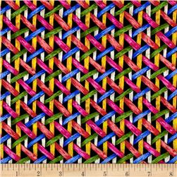 Somerset Woven Ribbons Black/Multi