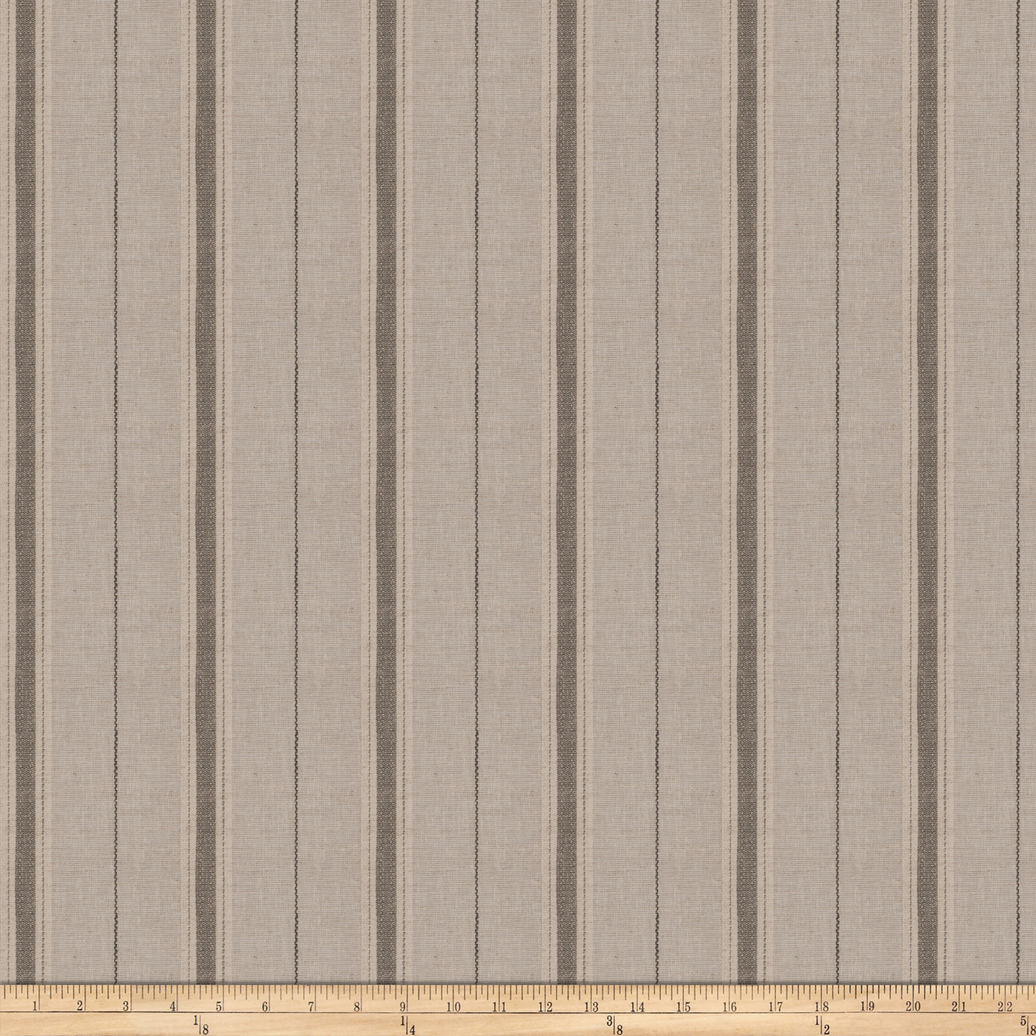 Image of Fabricut Kepa Stripe Linen Blend Steel