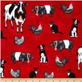Everyday Favorites Farm Animals Red