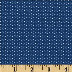 Pin Dot Blue