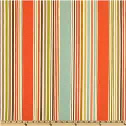 P Kaufmann Indoor/Outdoor Deck Chair Stripe Shell/Aqua Fabric
