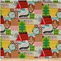 Alexander Henry Nicole's Prints Love to Camp Brite/Multi