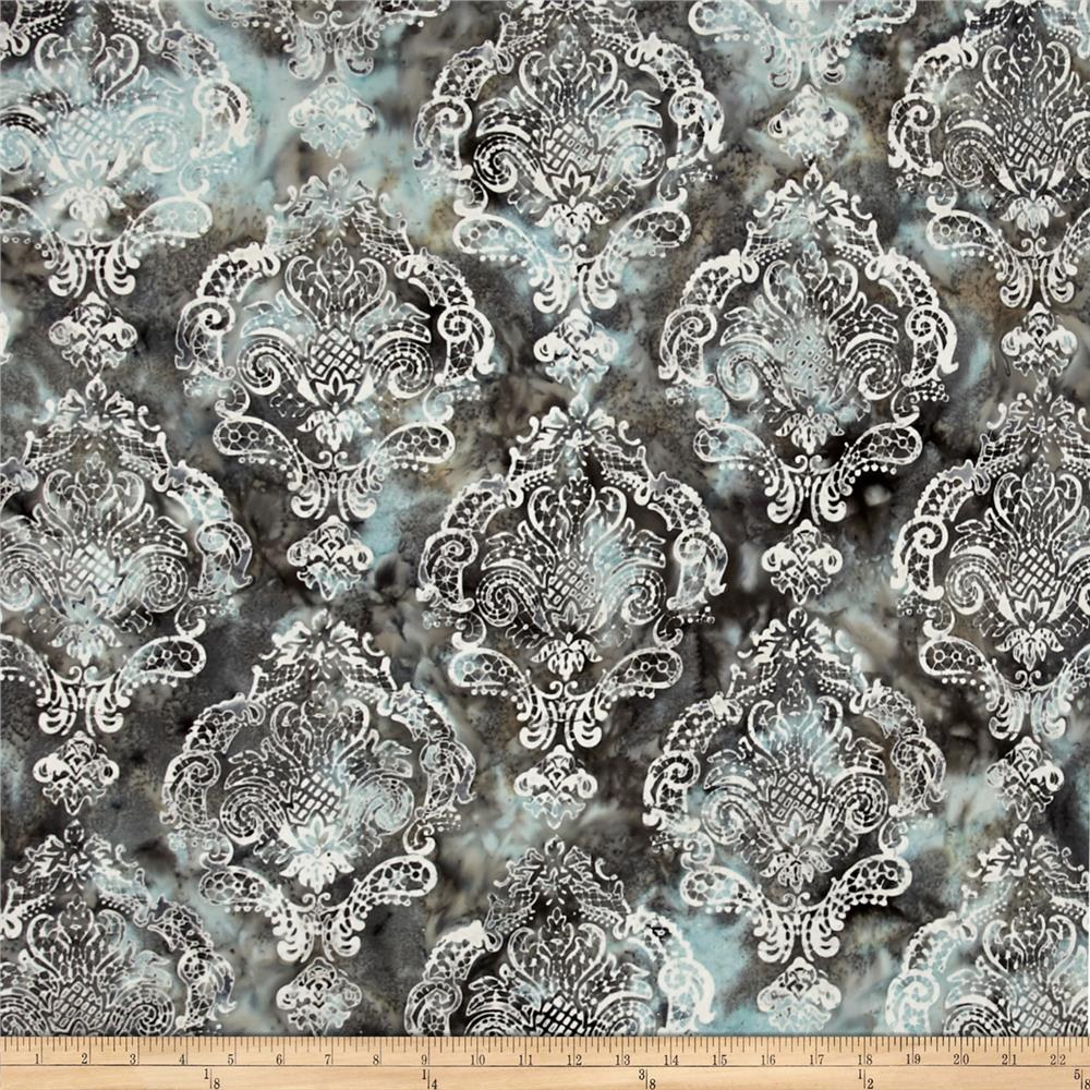 Bali Batiks Handpaints Damask Nirvana