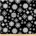 Winter Essentials II Snowflake Black