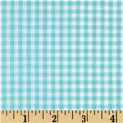"Richcheck 60"" Gingham Check 1/8"" Mint"