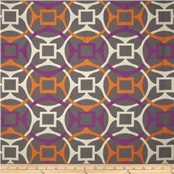 Golding Astro Upholstery Jacquard Orange