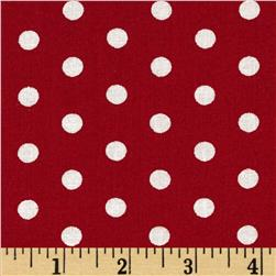 Forever Small Polka Dot Red