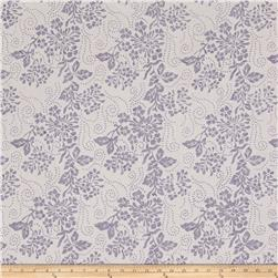 Sunrise Sunset Batiks Floral Spray Lavendar