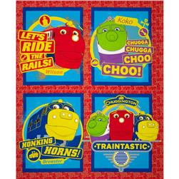 Chuggington Pillow Panel Red