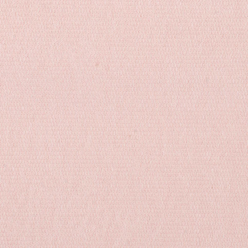 French Terry Knit Light Pink