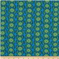 Anna Maria Horner True Colors Crescent Bloom Turquoise