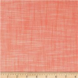 Kaufman Manchester Textured Yarn Dye Solid Shirting Peach