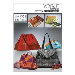 Vogue Tote And Zip Case In 2 Sizes
