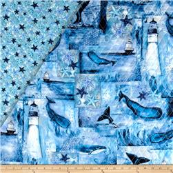 Follow The Light Double Sided Quilted Lighthouse &