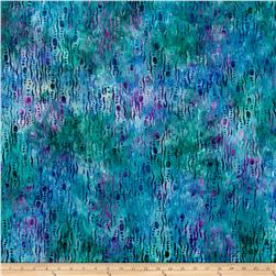 Anthology Batik Bubbles Multi/Teal