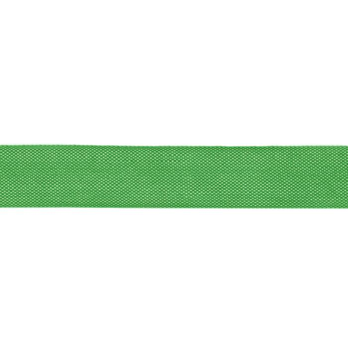 Hug Snug 1/2'' Rayon Seam Binding Grass Green/100