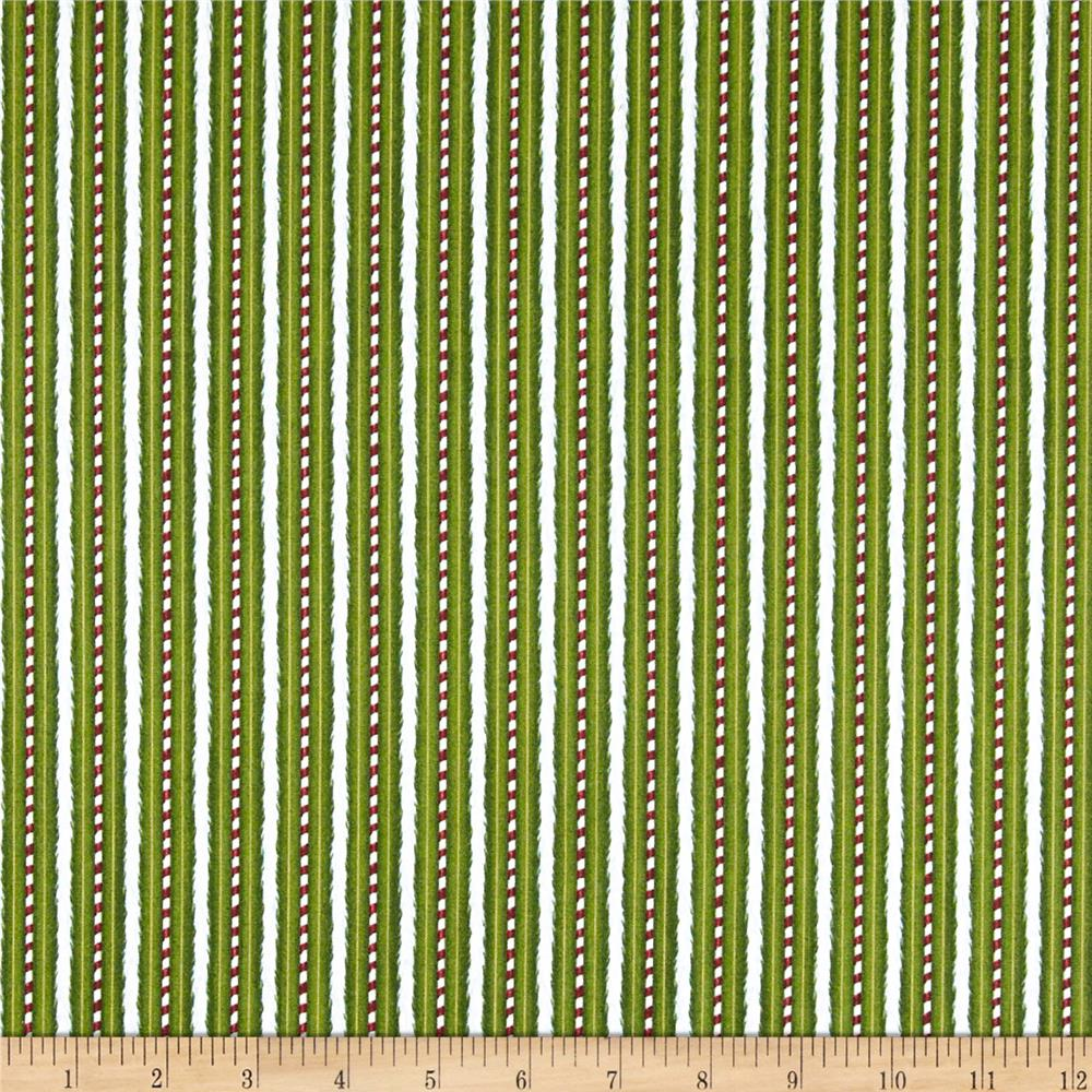 Merriment Stripe Green