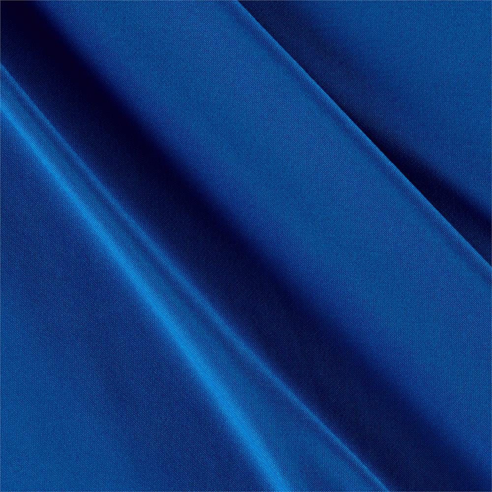 Poly spandex stretch ity knit solid azure discount for Spandex fabric