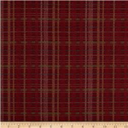 Timeless Treasures Tailormade Flannel Plaid Red Fabric