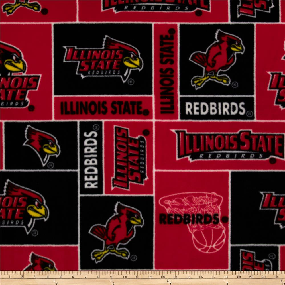 Illinois State Fleece Fabric By The Yard