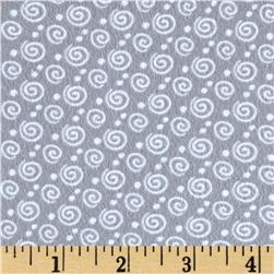 Kanvas Breezy Baby Flannel Dreamy Swirl Grey