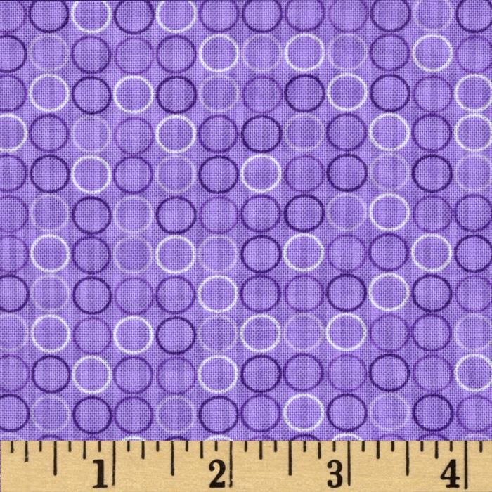 Spot On Circle In A Line Violet