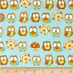 Hoot! Hoot! Hooray! Owls Blue