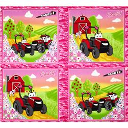 "Case IH Kids Pillow 36"" Panel Multi"
