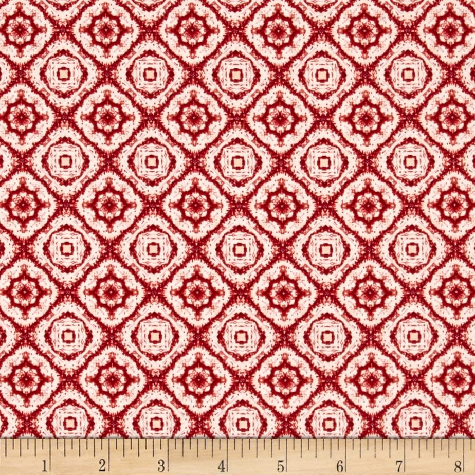 Penny Rose Autumn Hue Medallion Maroon