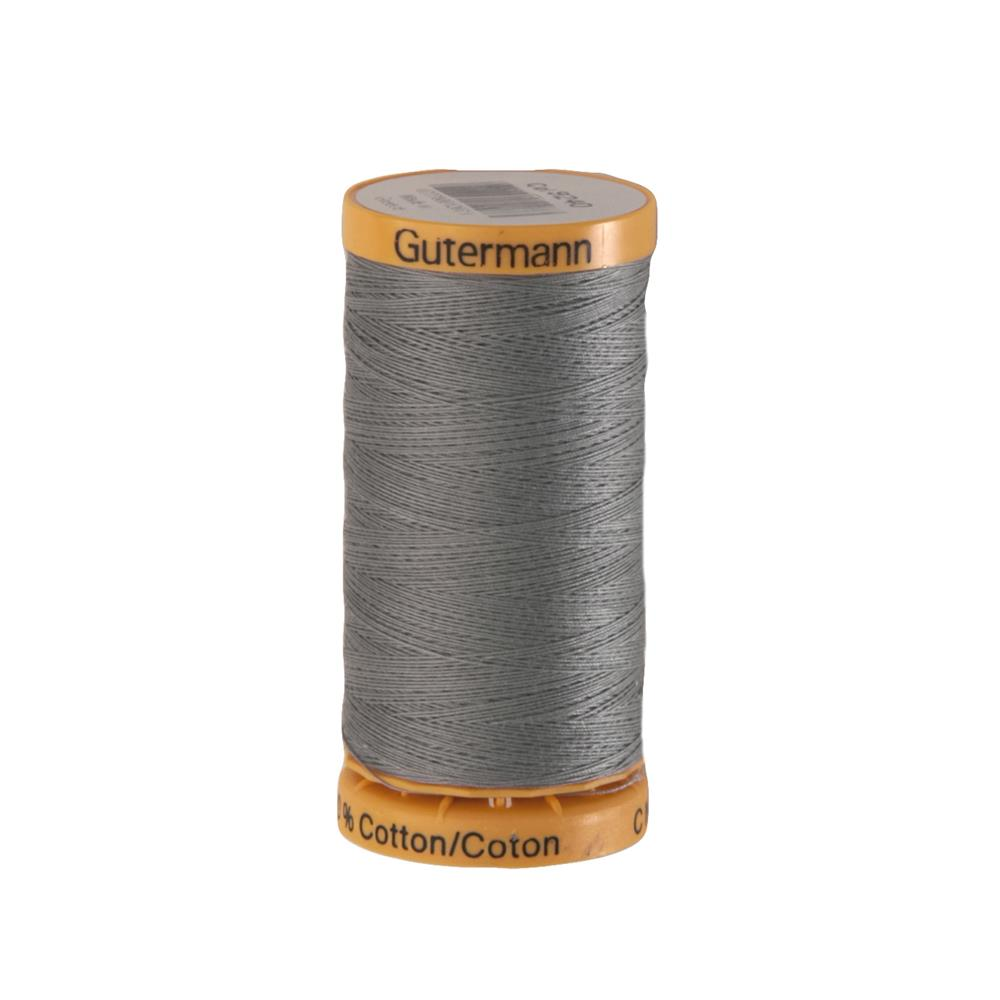 Gutermann Natural Cotton Thread 250m/273yds Grey