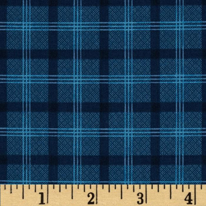 Prairie Home and Companions Plaid Navy
