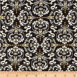 Valori Wells Novella Cotton Sateen Heart De Flur Charcoal