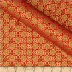 Alchemy Metallic Tile Orange