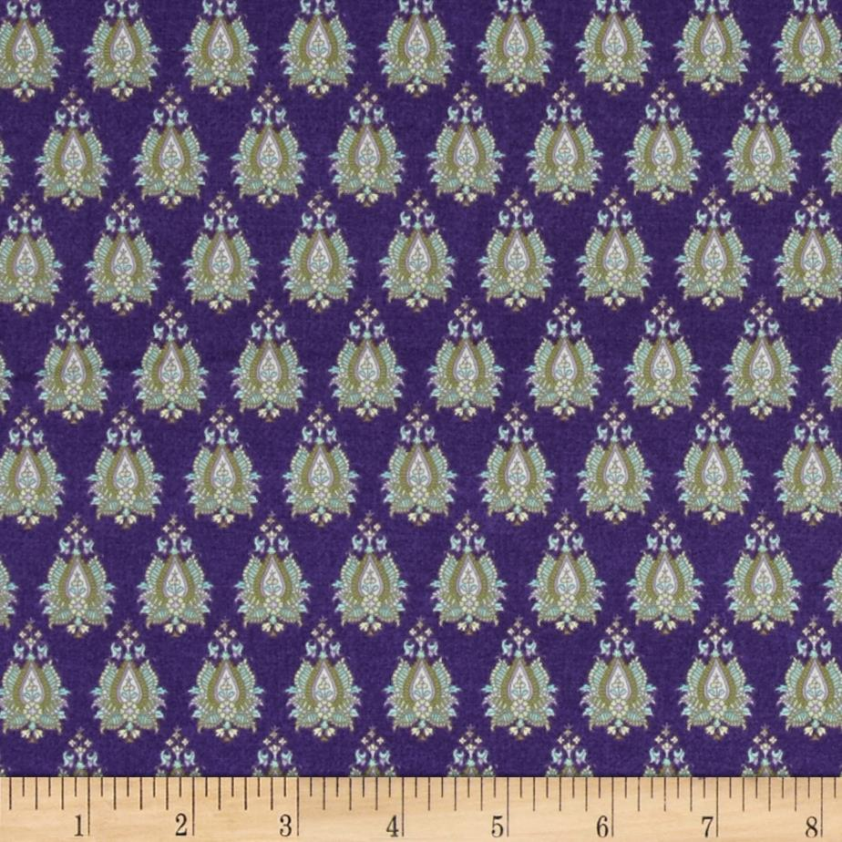 Briarcliff Foulards Purple