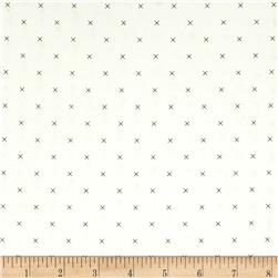 Riley Blake Bee Backgrounds Cross Stitch Gray