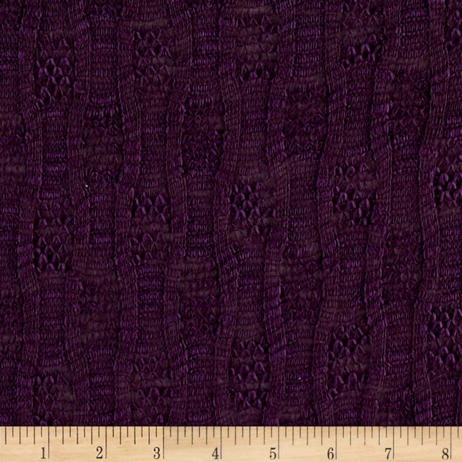Novelty Sweater Knit Purple