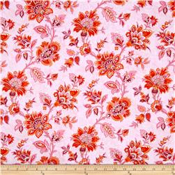 Palm Court Medium Floral Pink