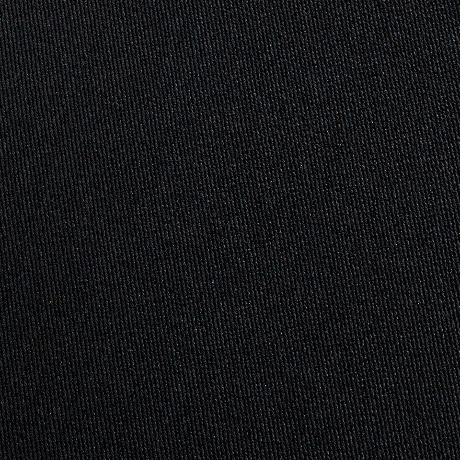 Sanded/Brushed Twill Black Fabric by Carr in USA