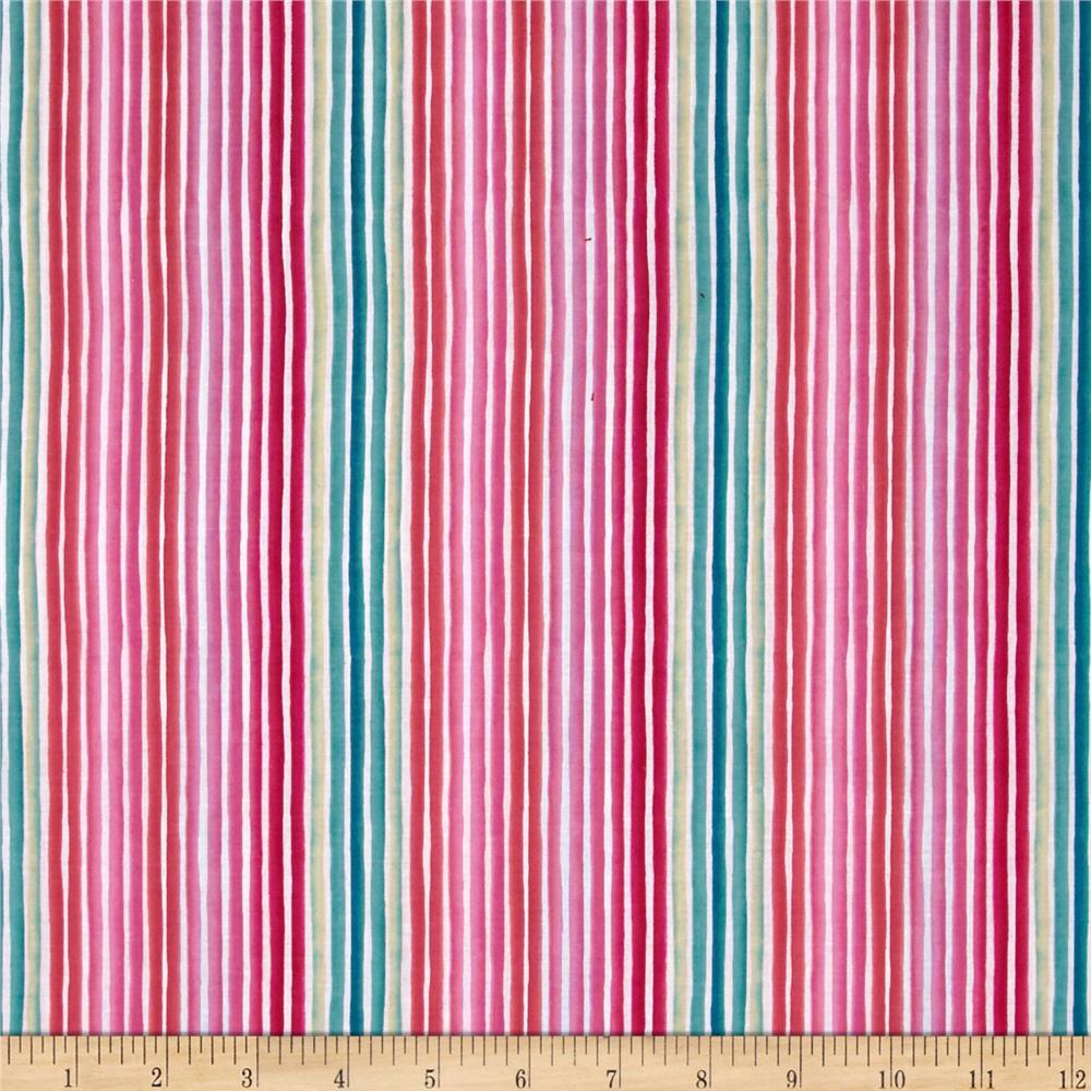 Dear Stella Summer Love Rainbow Stripe Multi