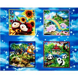 "Pillow Pets Adventure 36"" Panel Multi"