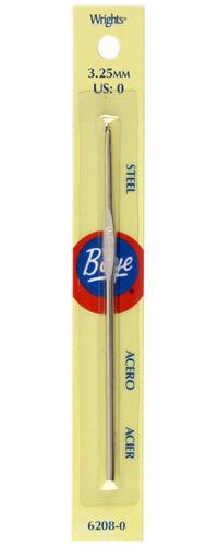Boye Steel Crochet Hook 5'' Size 0