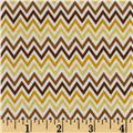 Riley Blake Indie Chic Zig Zag Yellow